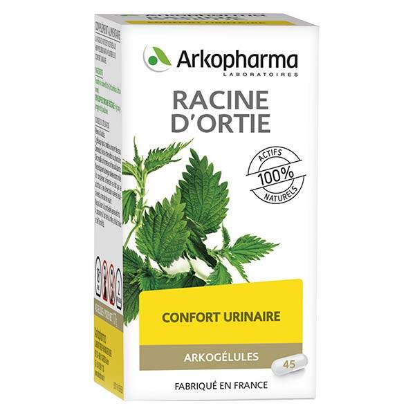 Arkopharma Arkogélules Racine d'Ortie 45 gélules