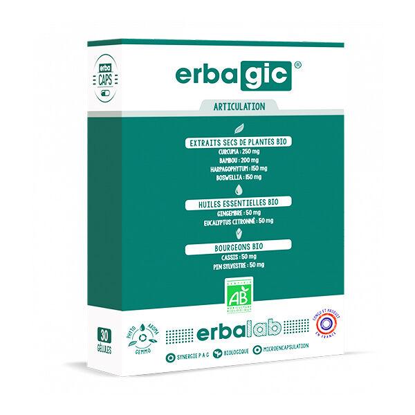Erbacaps Erbagic Articulation 30 gélules