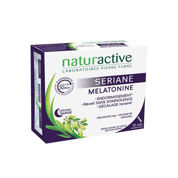 Naturactive Seriane Melatonine arôme vanille 20 sticks