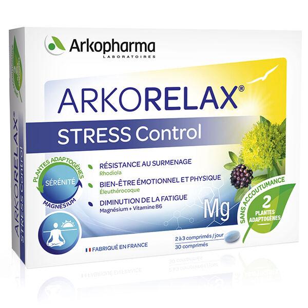 Arkopharma Arkorelax Stress Control Magnésium Vitamine B6 30 comprimés