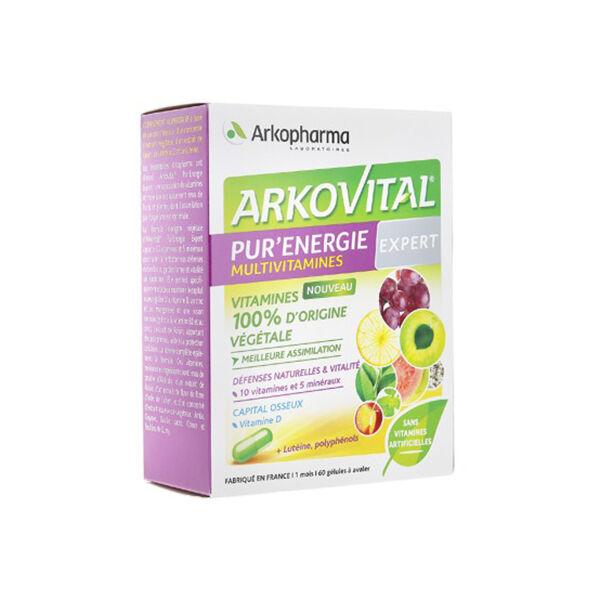 Arkopharma Arkovital Pur'Energie Expert Vitamines & Minéraux 60 gélules