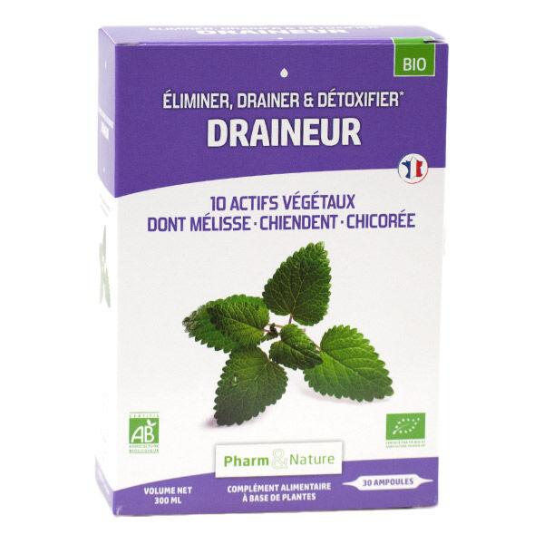 Pharm & Nature Draineur Bio 30 ampoules