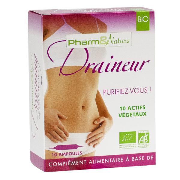 Pharm & Nature Draineur Bio 10 ampoules