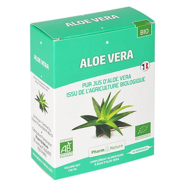 Pharm & Nature Aloe Vera Bio 10 ampoules