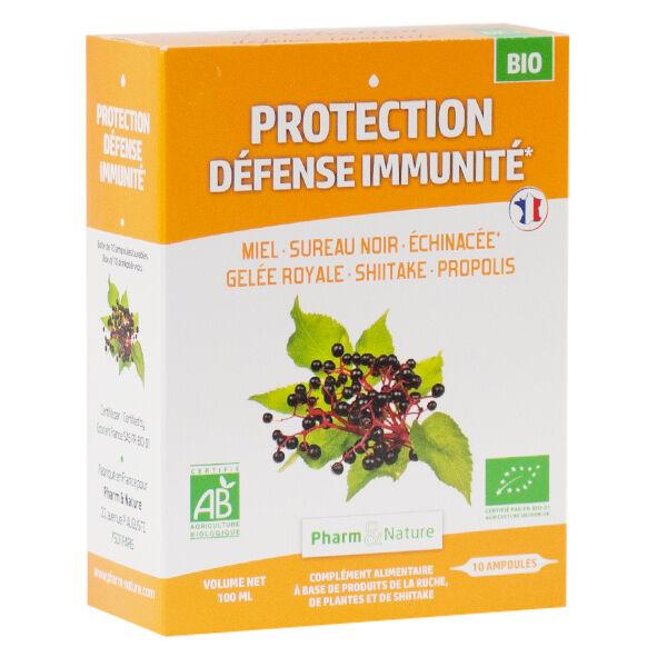 Pharm & Nature Protection Défense Immunité Bio 10 ampoules