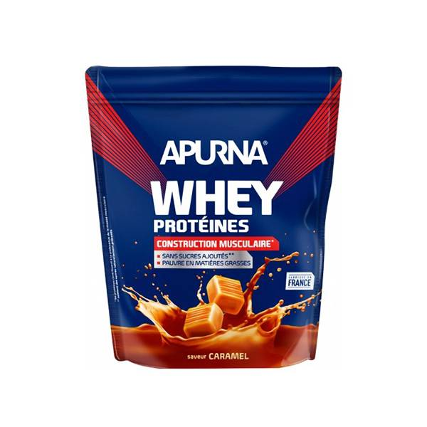 Apurna Whey Protéines Caramel Doypack 720g