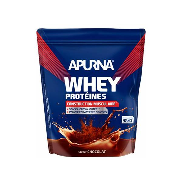 Apurna Whey Protéines Chocolat Doypack 750g