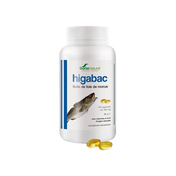 Soria Natural Higabac 125 capsules