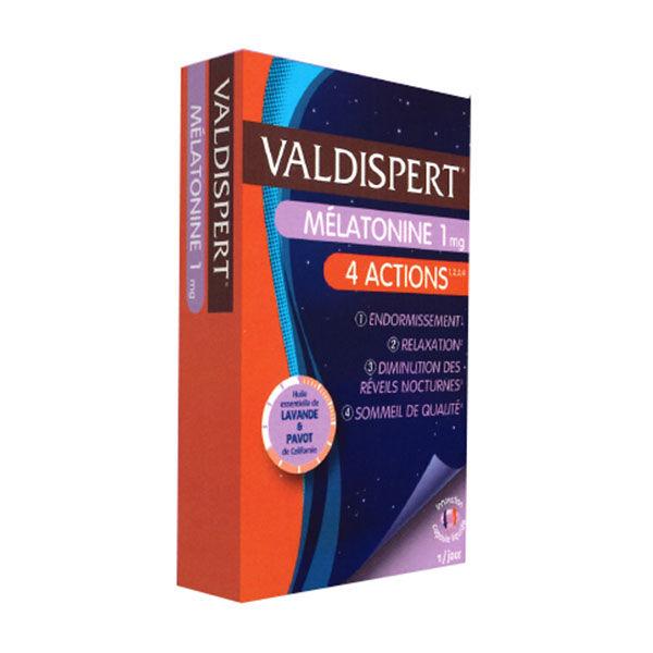 Valdispert Melatonine 1mg 4 Actions 30 capsules