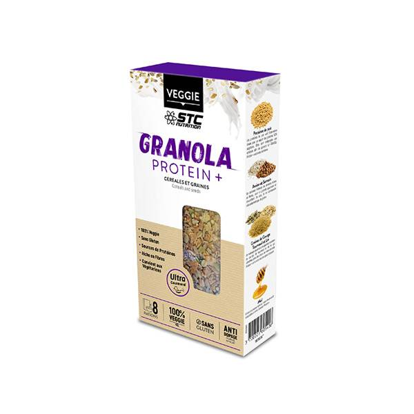 STC Nutrition Granola Protein+ 8 rations