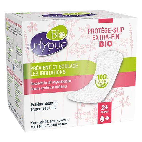 Unyque Protège-Slip Extra-Fin Bio 24 protections