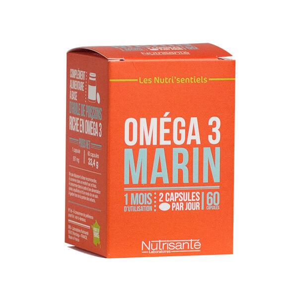 Nutrisanté Les Nutri'Sentiels Oméga 3 Marin 20 capsules