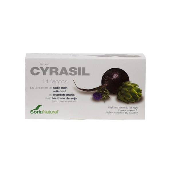 Soria Natural Cyrasil 14 ampoules