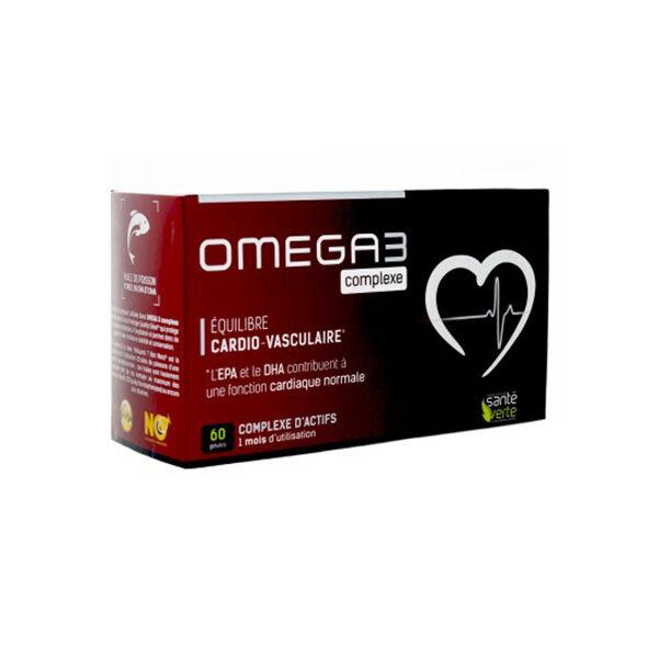 Santé Verte Oméga3 complexe 60 gélules
