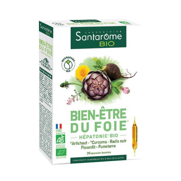 Santarome Bio Bien-Etre du Foie 20 ampoules