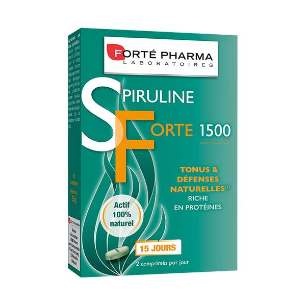 Forté Pharma Spiruline Forte 1500mg 30 comprimés