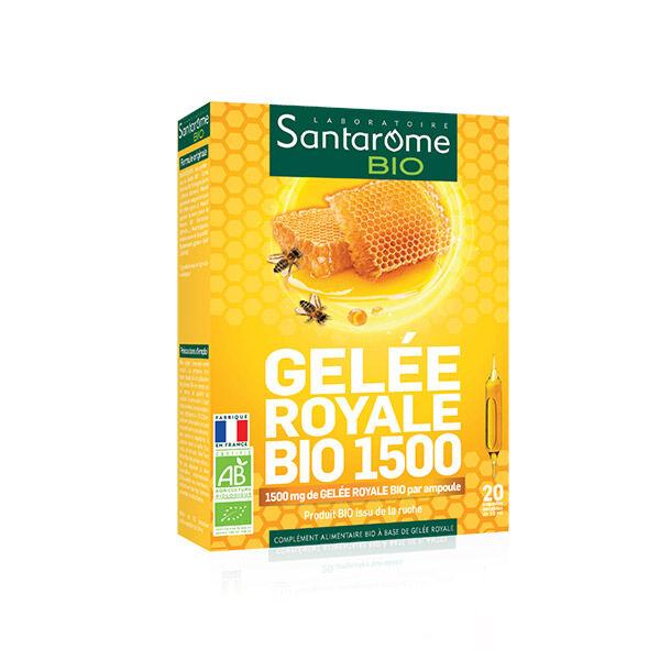 Santarome Bio Gelée Royale 1500 20 ampoules