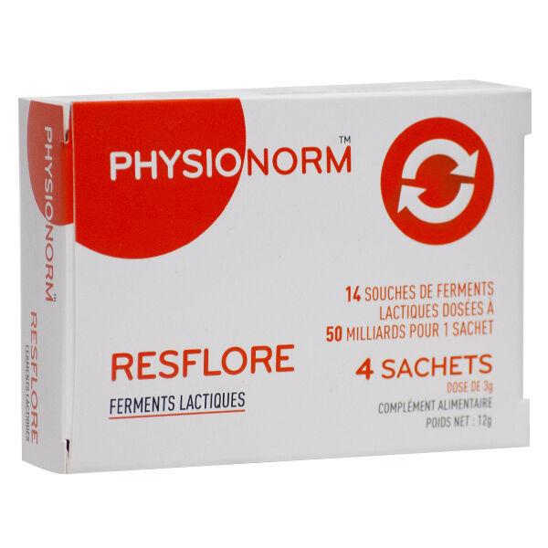 Immubio Physionorm Resflore Ferments Lactiques 4 sachets