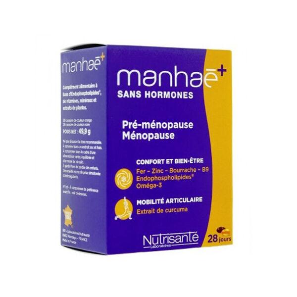 Nutrisanté Manhaé + Curcuma 56 capsules