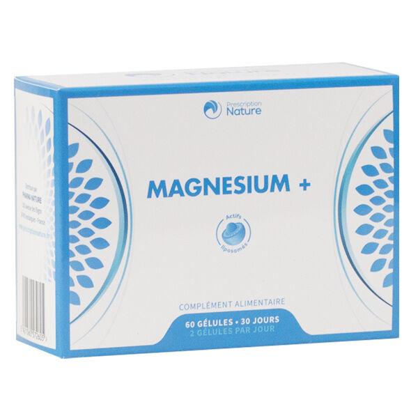 Prescription Nature Magnésium+ 60 gélules