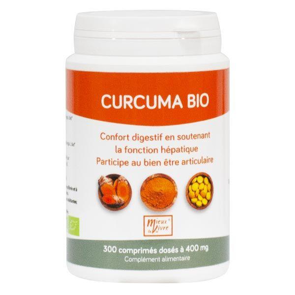 Nomadiet Curcuma Bio 300 comprimés