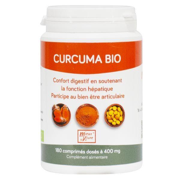 Nomadiet Curcuma Bio 180 comprimés