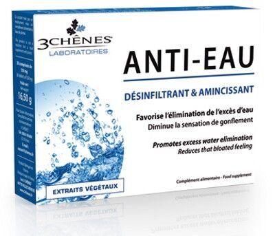 Les 3 Chênes Anti-Eau Extraits Végétaux 30 comprimés