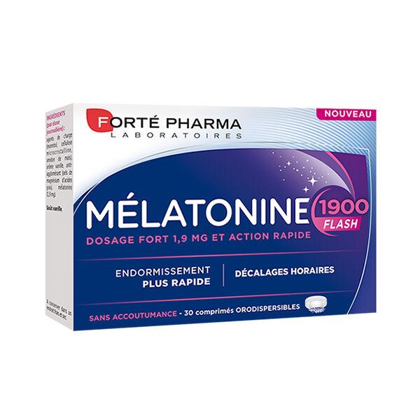 Forté Pharma Mélatonine 1900 Flash 30 comprimés