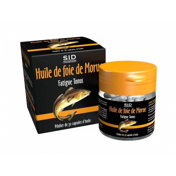 SIDN Phyto classics Foie de Morue 30 capsules