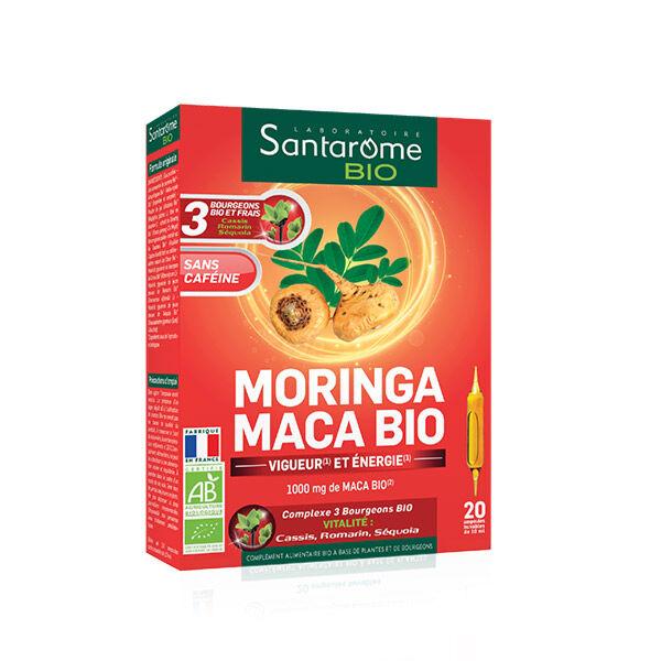 Santarome Bio Moringa Maca Bio 20 ampoules