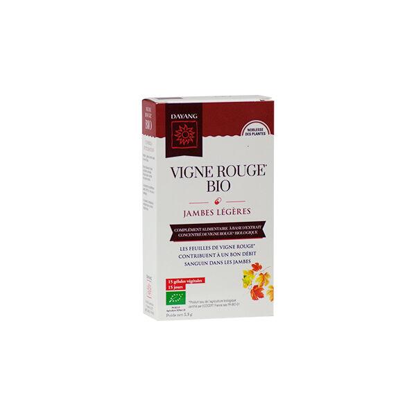 Dayang Vigne Rouge Bio Jambes Légères 15 gélules
