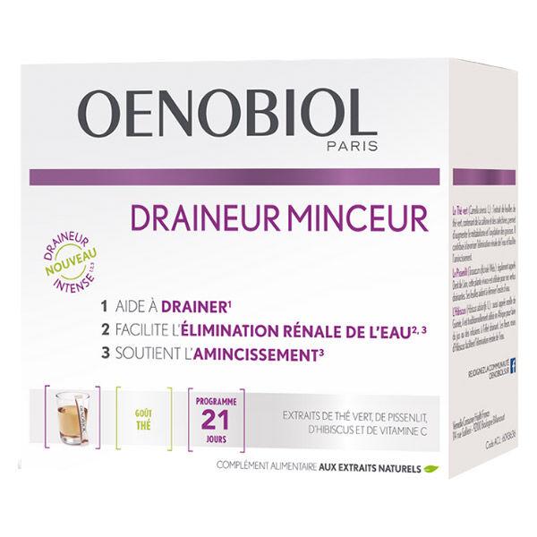 Oenobiol Draineur Minceur Gout Thé 21 sticks