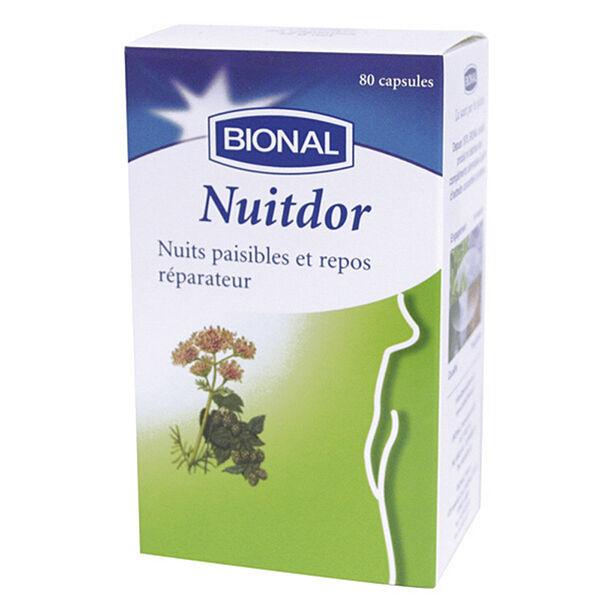 Bional Nuitdor Nuit Paisibles et Repos 80 capsules