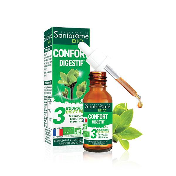 Santarome Bio Tri Complexe de Bourgeons Confort Digestif 30ml
