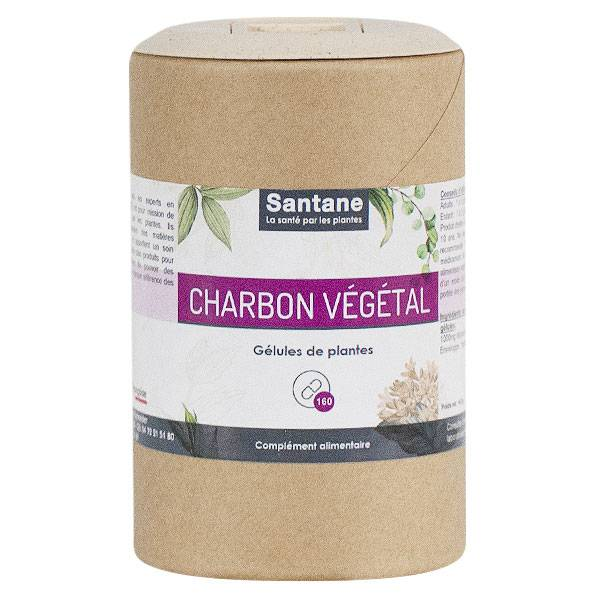 Iphym Santane Gélules Charbon Végétal 160 gélules