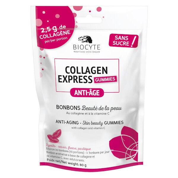 Biocyte Collagen Express Gummies Bonbons 30 Unités