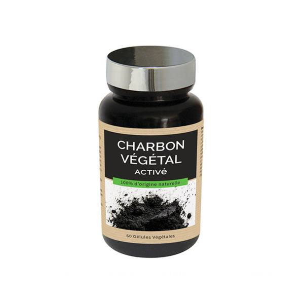 NutriExpert Charbon Végétal Activé 60 gélules végétales
