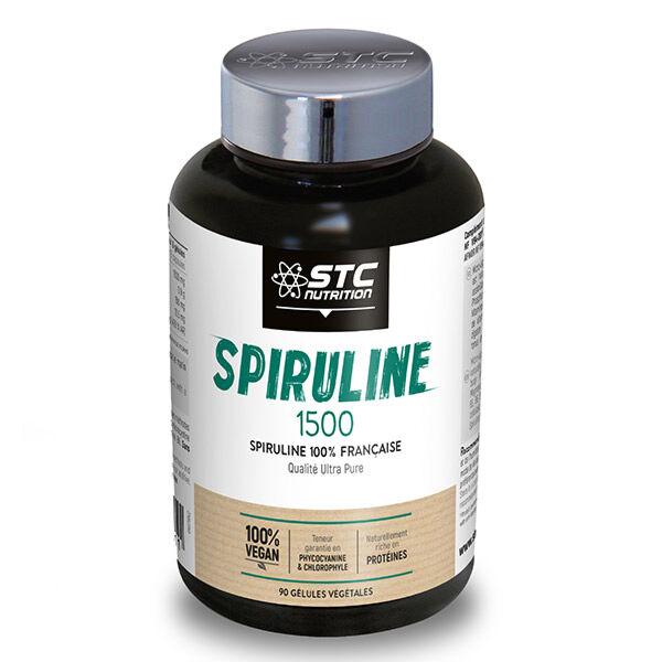 STC Nutrition Spiruline 1500 90 gélules végétales