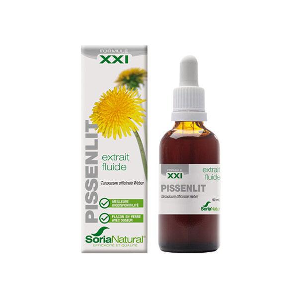 Soria Natural Extrait Fluide Glycerine Pissenlit XXI 50ml