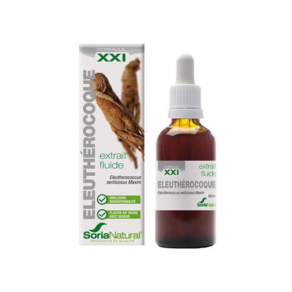 Soria Natural Extrait Fluide Glycerine Eleuthérocoque XXI 50ml