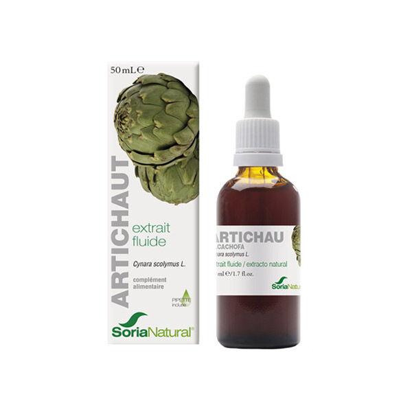 Soria Natural Extrait Fluide Glycerine Artichaut XXI 50ml