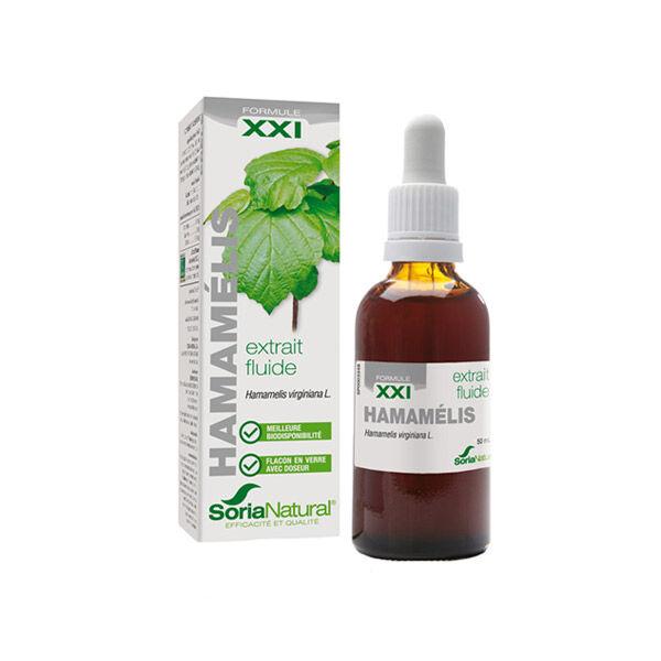 Soria Natural Extrait Fluide Glycerine Hamamelis XXI 50ml