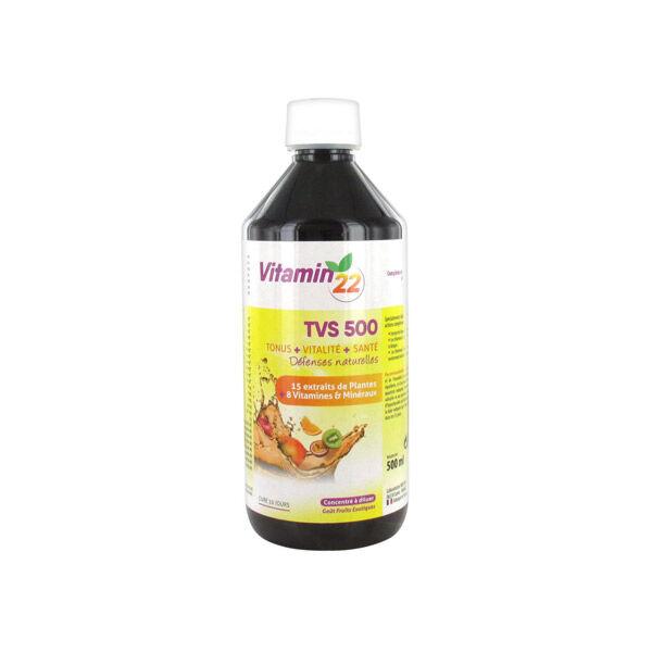 Ineldea Vitamin 22 TVS 500 Goût Fruits Exotiques 500ml