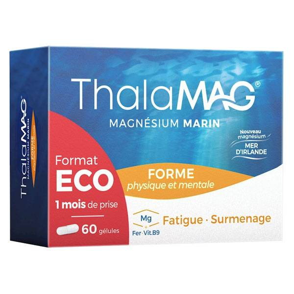 Iprad Thalamag Forme Magnésium Marin 60 gélules