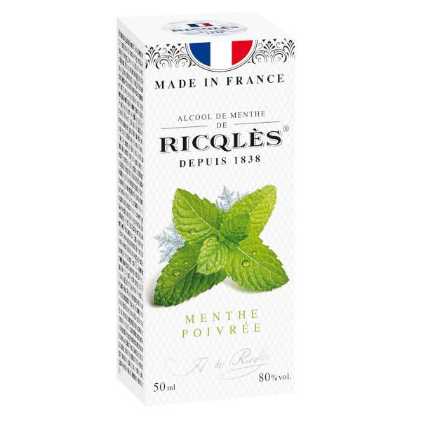Ricqles Alcool de Menthe Forte 50ml