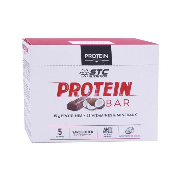STC Nutrition Protein Barres Saveur Coco 5 unités