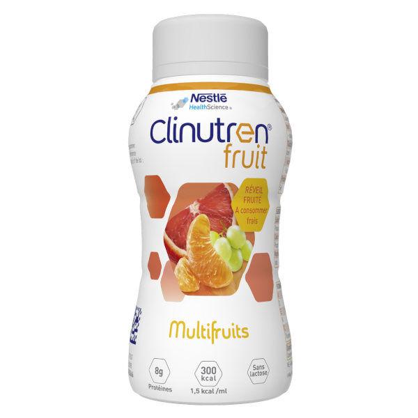 Clinutren Fruit Multifruits sans Lactose 4 x 200ml
