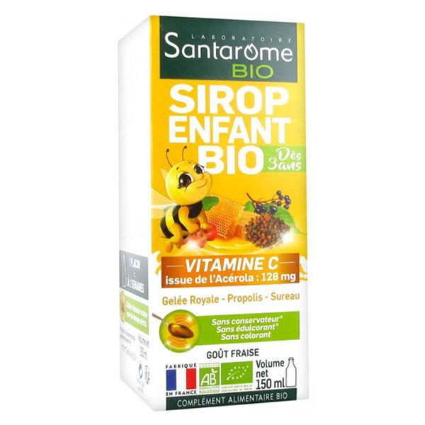Santarome Bio Sirop Fortifiant Enfants 150ml