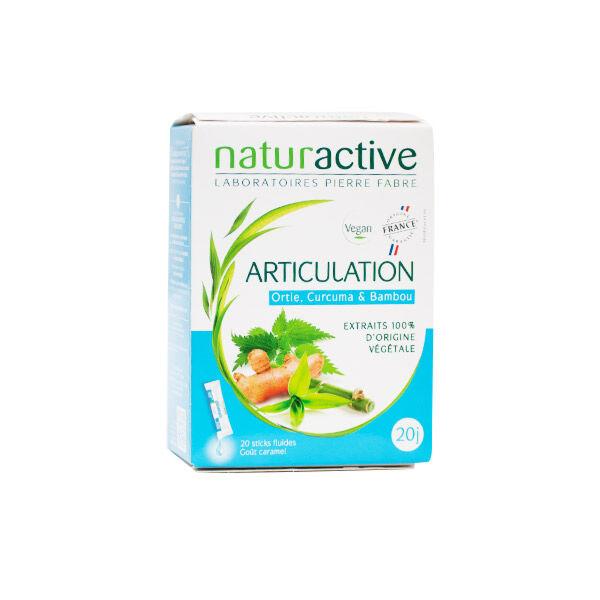 Naturactive Articulation Goût Caramel 20 sticks fluides