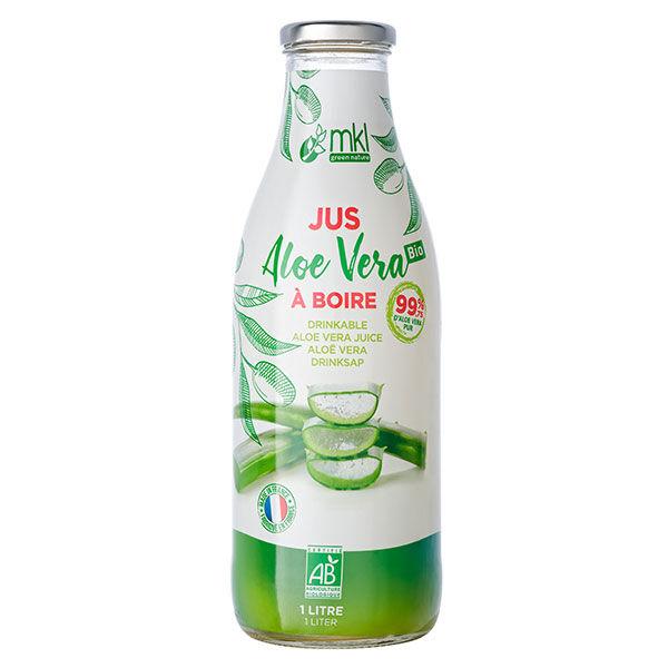 MKL Green Nature Jus Aloe Vera à Boire 1L
